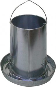 25 lb Poultry Feeder - Double JB Feeds