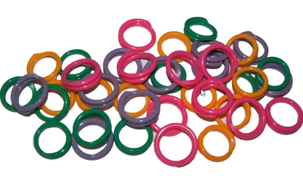 Poultry Leg Bands- Double JB Feeds