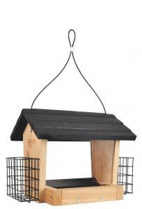 Wooden Hopper Feeder - Double JB Feeds