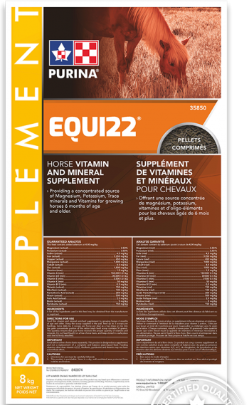 Purina Equi22 - Double JB Feeds