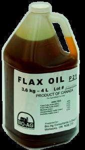Flax Oil - Double JB Feeds