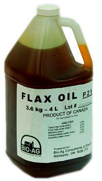 Flax Oil - Double JB Feeds