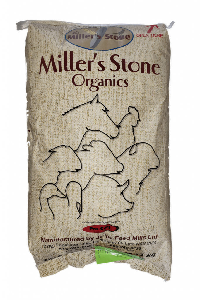 Miller's Stone Organic Chicken Feed - Double JB Feeds