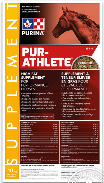 Purina Pur-Althlete - Double JB Feeds