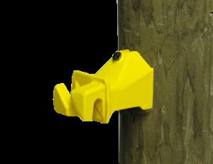 Wood Post Snug Insulator - Double JB Feeds