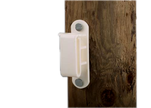 Wood Post Electric Tape Insulator - Double JB Feeds