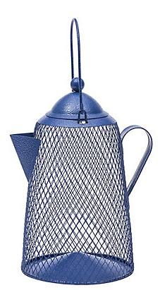 Campfire Coffee Pot Bird Feeder - Double JB Feeds
