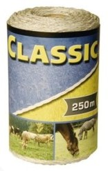 Classic Electric Fence Rope 250 m - Double JB Feeds