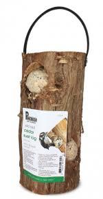 Cedar Suet Log Feeder - Double JB Feeds