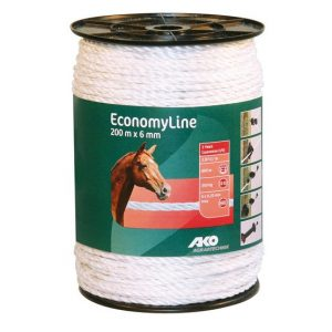 Electric Fence Tape 200m x 6mm - Double JB Feeds