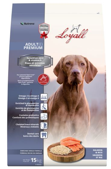 Loyall Adult Salmon and Rice Dog Food - Double JB Feeds