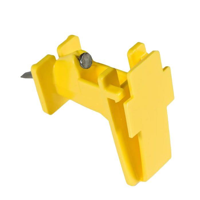 Wood Post Tape Insulator - Double JB Feeds