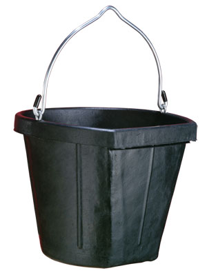 Fortex Rubber Bucket - Double JB Feeds