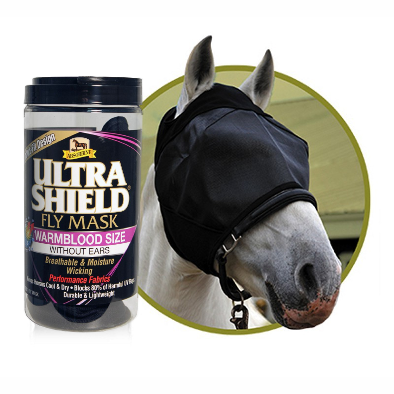 Horse Fly Mask Warmblood Size - Double JB Feeds