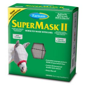 Horse Fly Mask with Ears - Double JB Feeds
