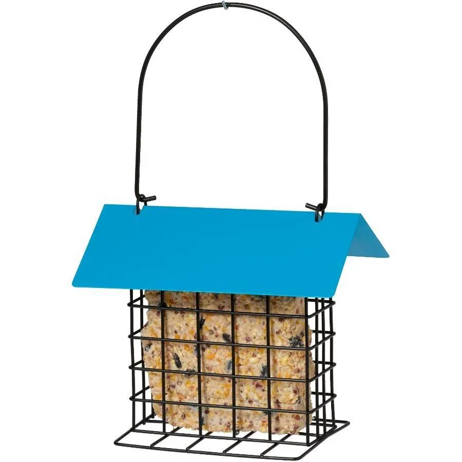 Covered Suet Cake Feeder - Double JB Feeds