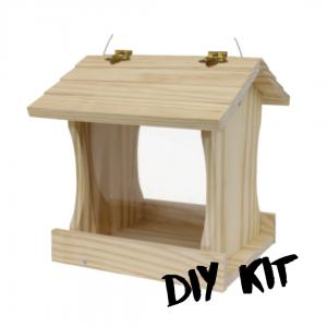 Wood Bird Feeder DIY Kit - Double JB Feeds