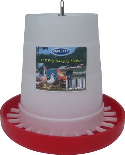 Double JB Feeds - 6 Poly Hanging Poultry Feeder